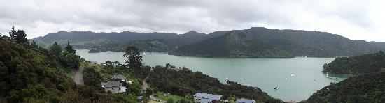 Waimanu Lodge Whangaroa Northland: awesome wide view