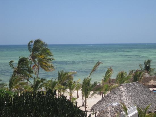 Jacaranda Beach Resort: vista dal ristorante