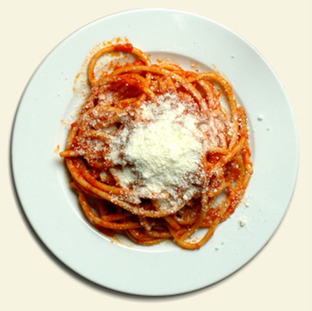 Genzano di Roma, Ιταλία: Bucatini all'Amatriciana