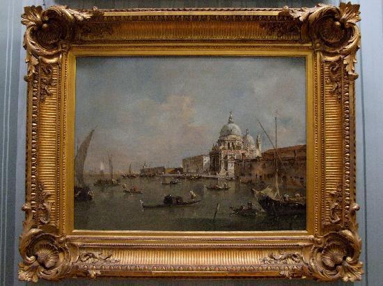 Wallace Collection : Francesco Guardi - Santa Maria della Salute e la Dogana