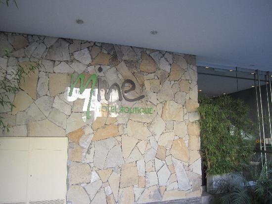 Mine Hotel Boutique: Mint Hotel Entrance