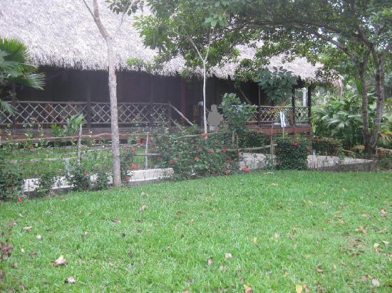 Ara Macao Las  Guacamayas: Grosse Doppel-Cabana