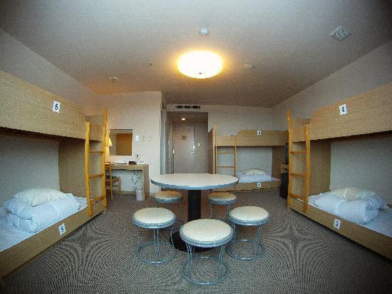 Samurai Riders: 6 bunk room