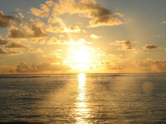 La Desirade: l'alba vista dal letto