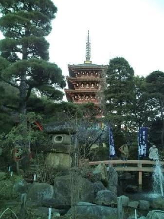 Hino, Japón: 五重塔1