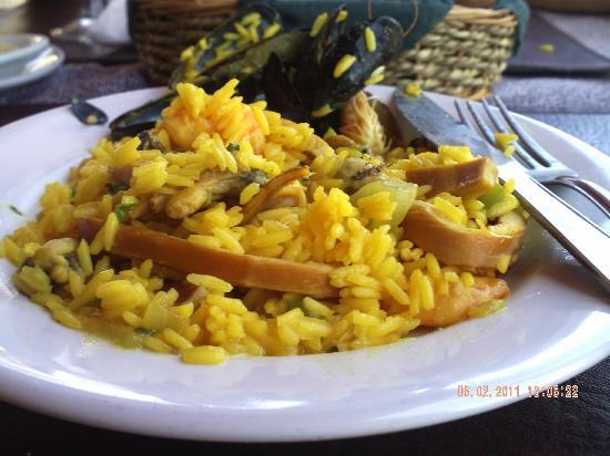Restaurante Don Quijote: Arroz con Mariscos