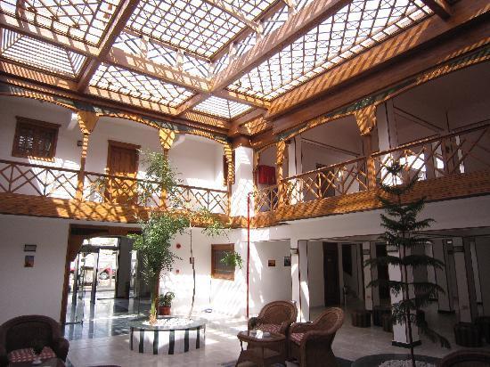 Acacia Dahab Hotel: Le hall d'entree