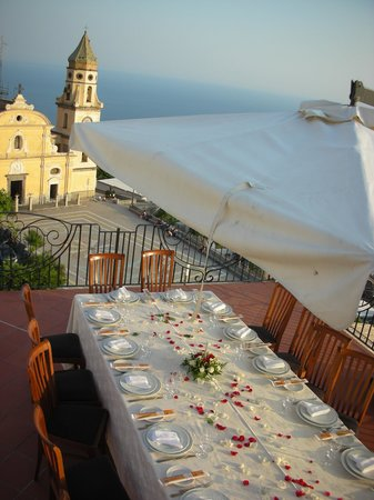Hotel Tramonto d'Oro: Reception wedding