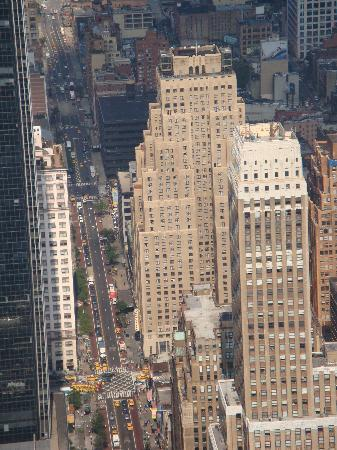 The New Yorker A Wyndham Hotel: El hotel visto desde el Empire State