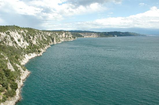 Duino, Italie : vista mare 2