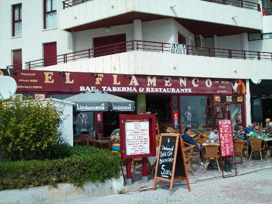 Calpe, Spanje: Belgium Bar Restaurant Flamenco/Flamingo Belgium Beers and mixed Belge/Spain Menu