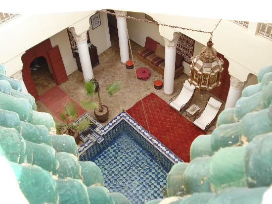 Origin Hotels Riad El Faran: El riad desde la terraza