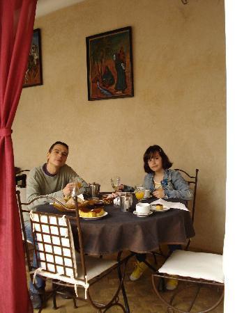 Origin Hotels Riad El Faran: Desayuno