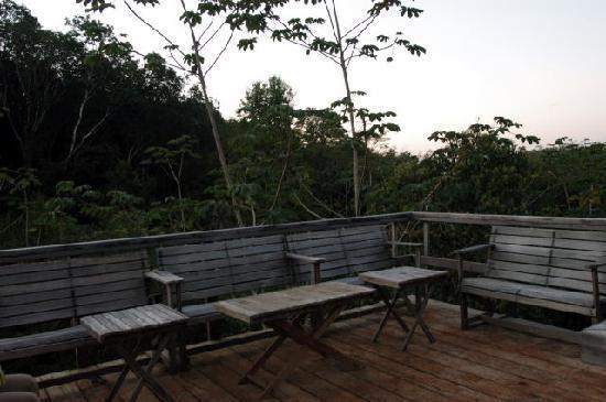 Mariposa Jungle Lodge: Atop the Bird Watching Tower