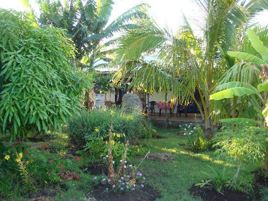 Atavai Pension : Jardin