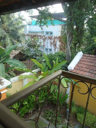 Tea Bungalow: View from Calicut bedroom