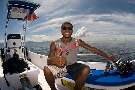 Emaho Sekawa Resort : Diving with Emaho Sekawa