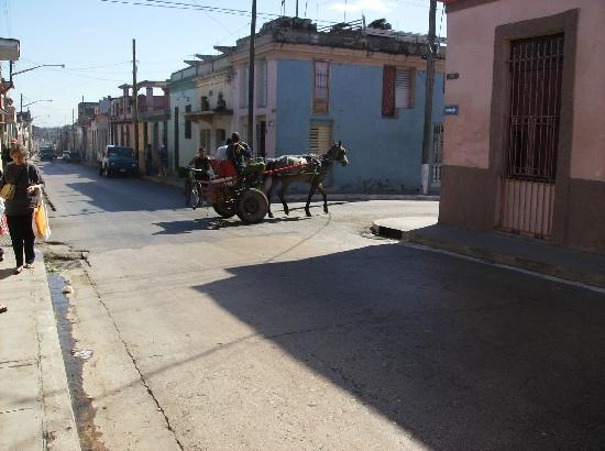 ‪‪Matanzas‬, كوبا: Typical street in Matanzas‬