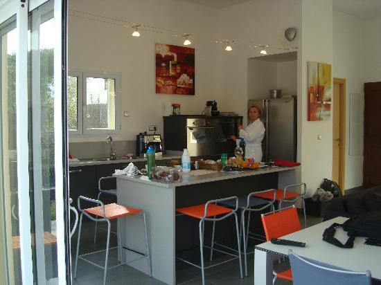 la cuisine am ricaine photo de domaine villas mandarine. Black Bedroom Furniture Sets. Home Design Ideas