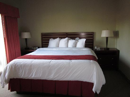 La Cuesta Inn: Our BIG bed!
