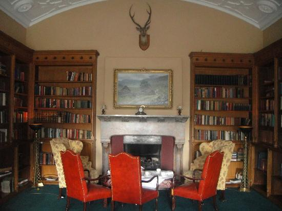 Adare Manor : the library