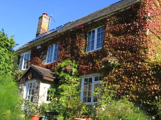 The Glen B & B: A sunny frontage.