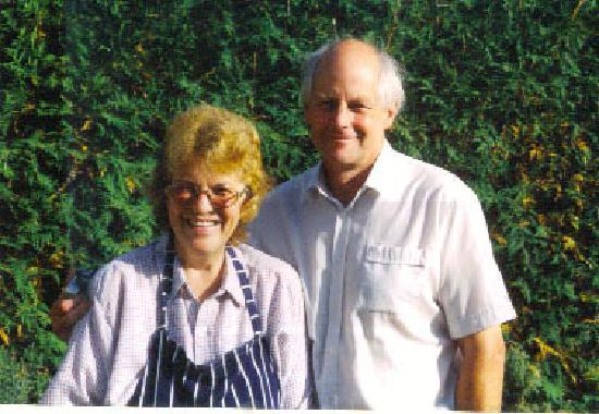 The Glen B & B: Gill and David welcome you to The Glen