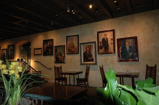The Mission Inn Hotel and Spa: Presidents' Portraits
