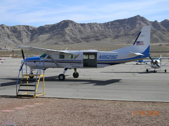 Vegas Extreme Skydiving: the plane I jumped out of~