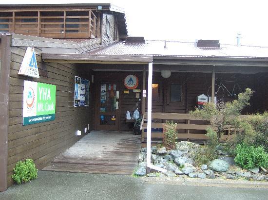 YHA Aoraki Mt Cook: 駐車場はたっぷりスペース!