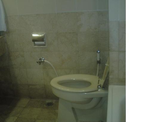 Hotel Santika Premiere Jogja: トイレです。
