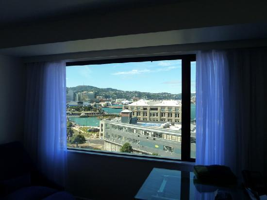 Amora Hotel Wellington: view from our room