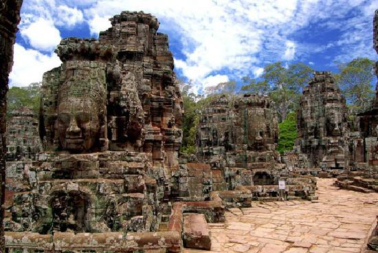 Siem Reap, Cambodia: Bayon Temple