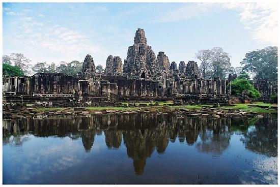 Siem Reap, Cambodja: Banyon