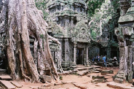 Siem Reap, Kambodsja: Taphrom