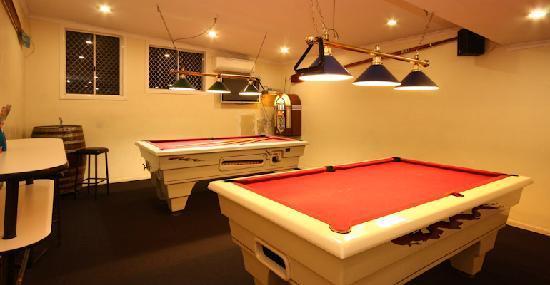 Fernvale Hotel-Motel : Pool Room