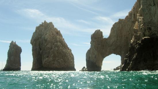 Playa del Amor: los arcos