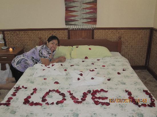 Dangkalan Beach Resort and Restaurant: lovers delight