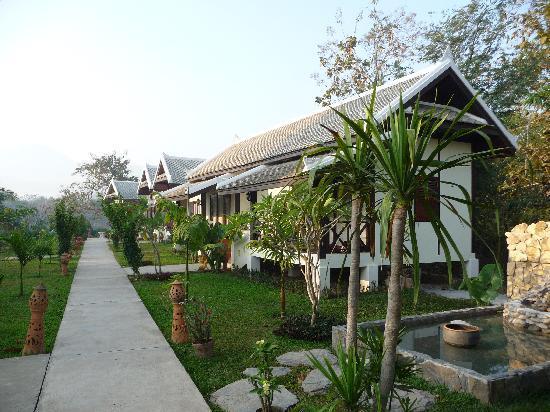 Luang Prabang Paradise Resort: Bungalows der Anlage