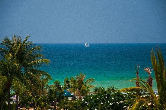 Hilton Phuket Arcadia Resort & Spa: Ocean view room (zoomed in)