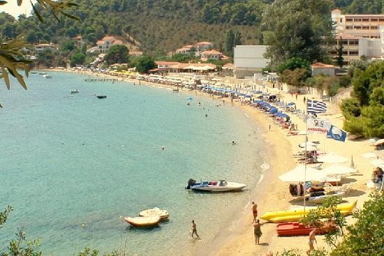 Villa Apollon Skiathos: Villa Apollon Achladies beach 2minutes walk