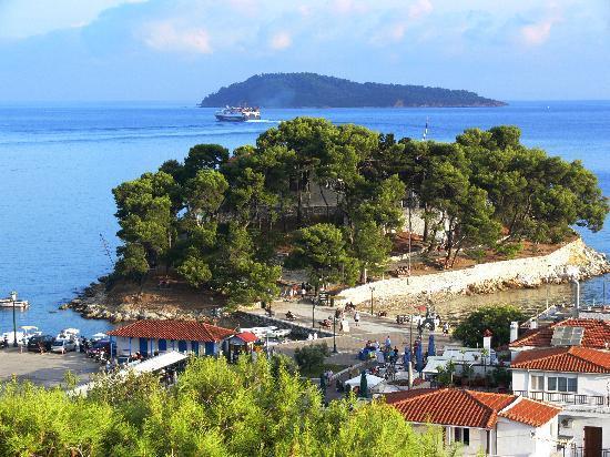 Villa Apollon Skiathos: Skiathos town