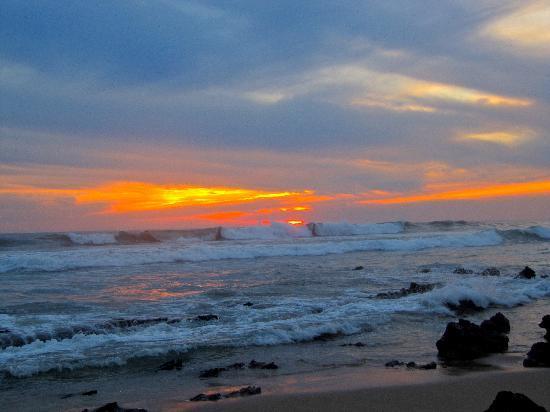 Casa de La Sirena : Beach at Sunset
