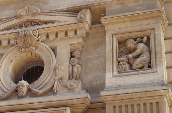 Cardiff's Forgotten Past: Detail outside the Old Library