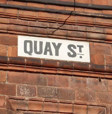 Cardiff's Forgotten Past: The old entrance to the town quay, where pirates smuggled their goods ashore, helped by scheming