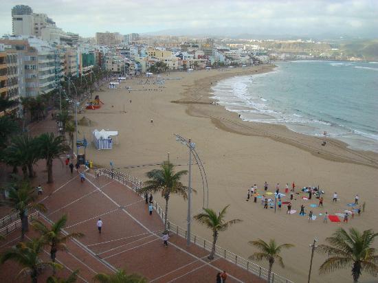 Hotel Apartamentos Don Carlos: Utsikt fra leilighet