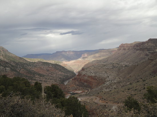 Globe, AZ: View of the Salt River