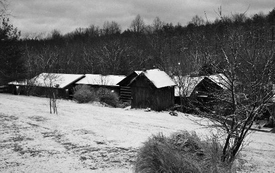 The Inn & Spa at Cedar Falls: Waking up to a Winter Wonderland
