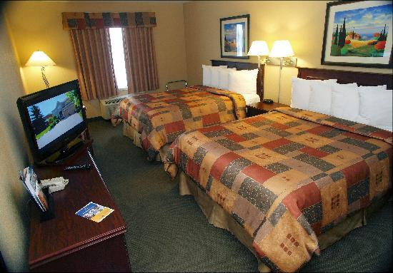 Best Western Plus Pembina Inn & Suites: Standard room 2 Queens