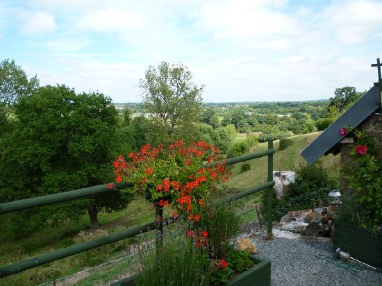 La Thiaumerie : View from the terrace